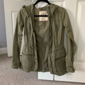 XS Hollister Army Jacket